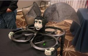 Robot terbang Nikko atau Robot monyet terbang diperkenalkan di SXSW