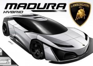 Mobil Hybrid Lamborghini Consept