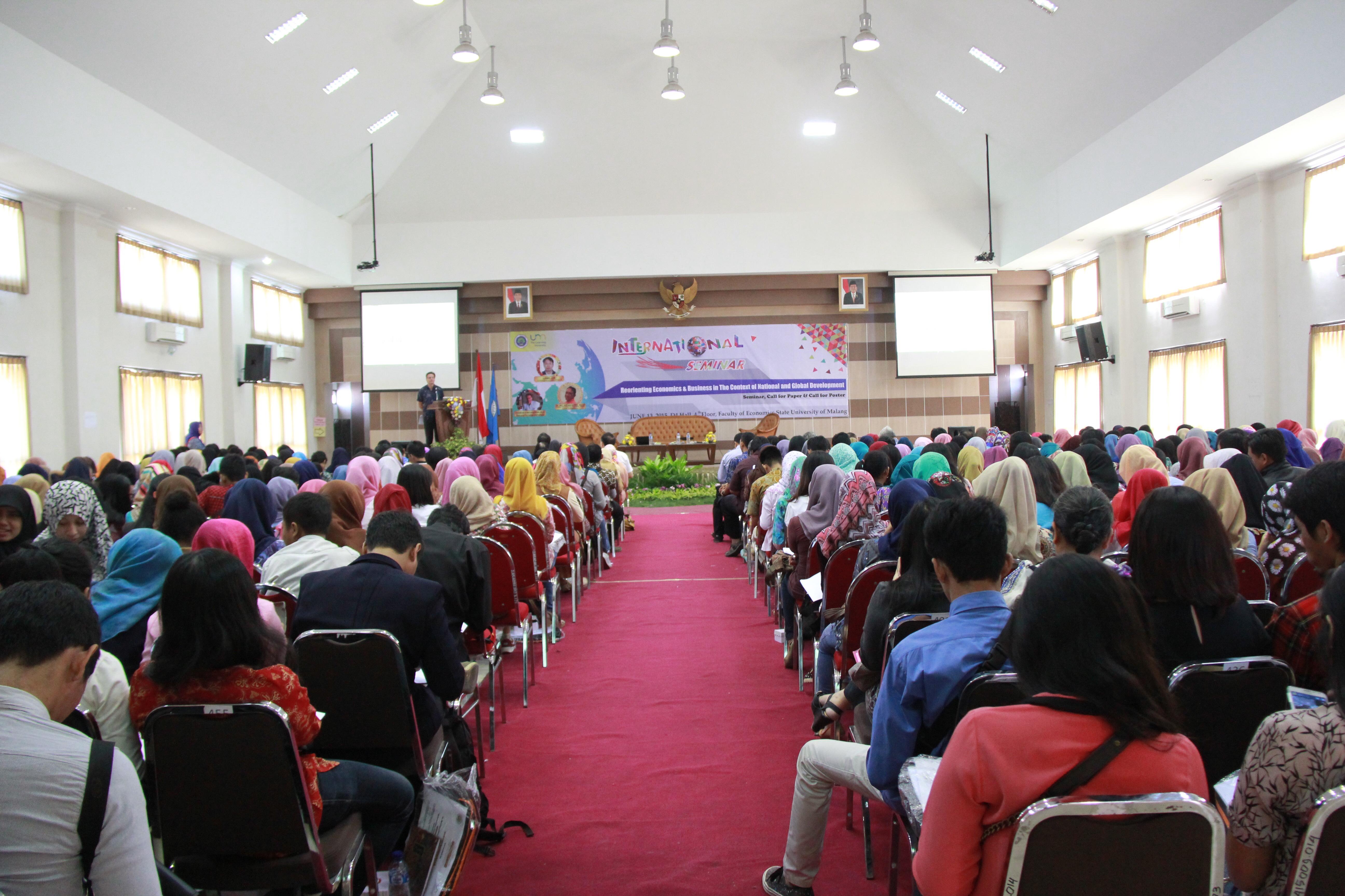 seminar organizer PONTiANAK